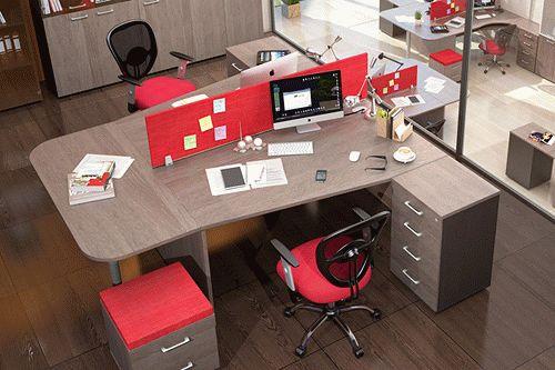 Недорогая офисная мебель из ДСП