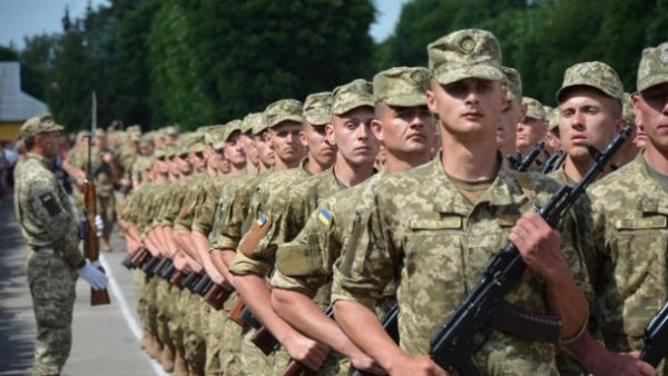 В Черкассах осуществляется принужденный набор в армию