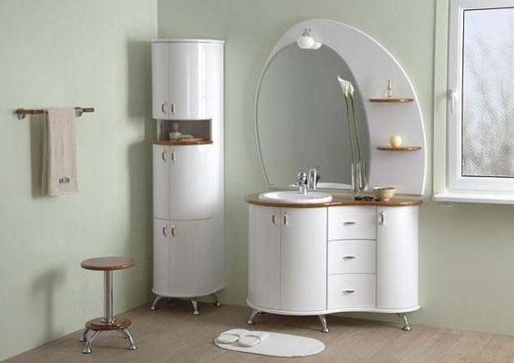 Какой бывает и какой должна быть мебель в ванной комнате?