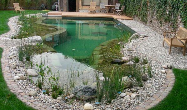 Как создать на участке водоем?