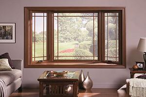 ПВХ окна и разные стили интерьера