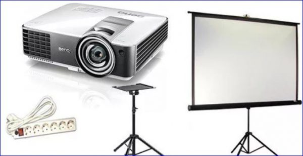 Использование презентационного оборудования