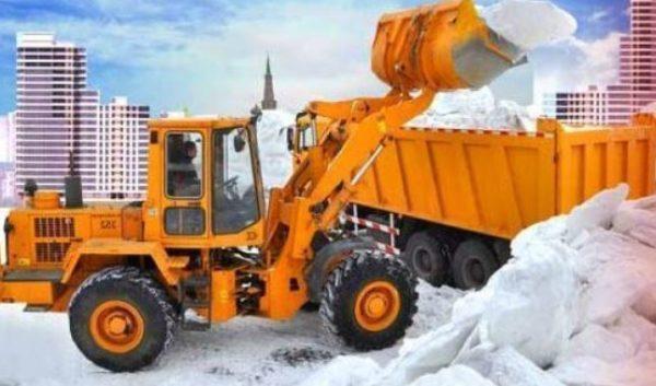 «АСФАЛЬТ ТЕХНО» - вывоз снега в любое время суток