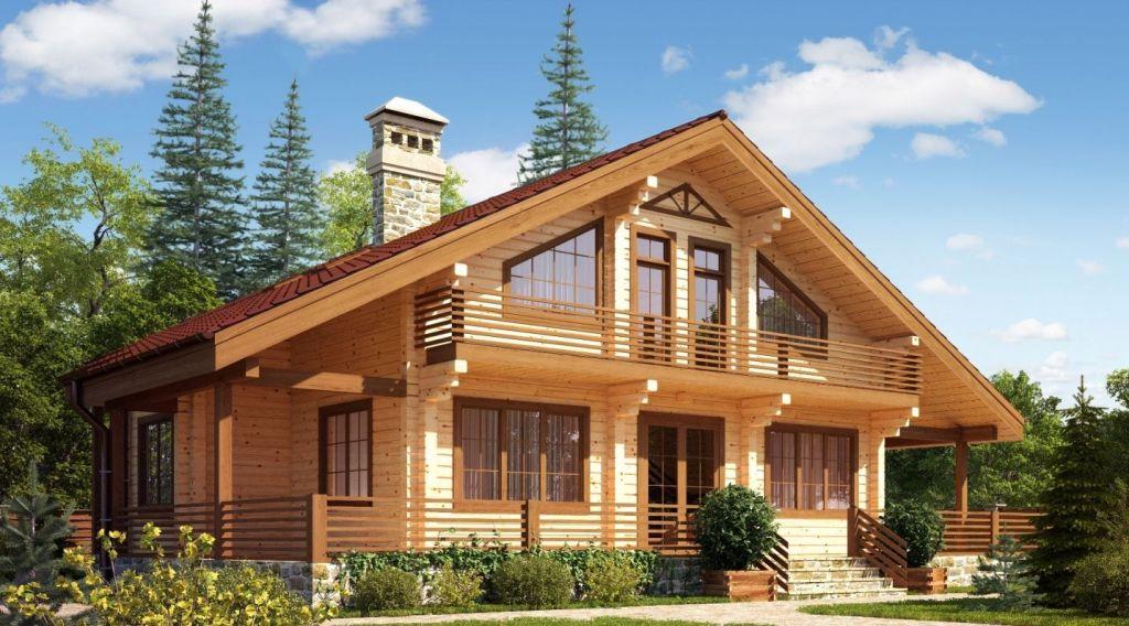 Почему вы сделаете выбор в пользу домов из клееного бруса?