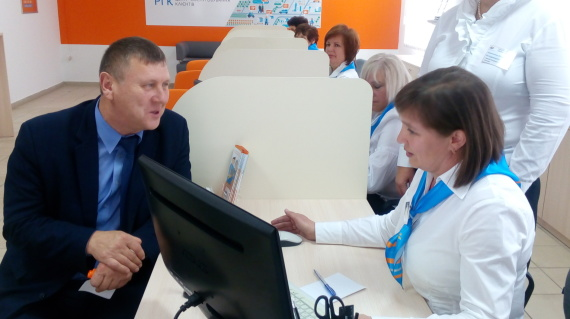 В Хмельницком открывают очередные центры обслуживания клиентов европейского образца
