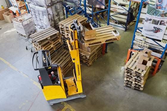 Ричтрак входит в число эффективных единиц складского оборудования