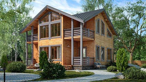 Каркасные дома – доступное и современное жилье