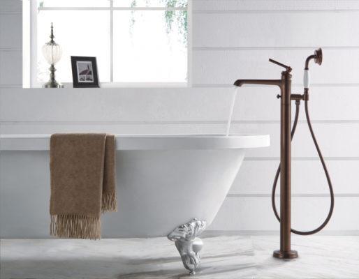 Качественный напольный смеситель в вашу ванную комнату