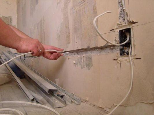 Замена проводки в доме