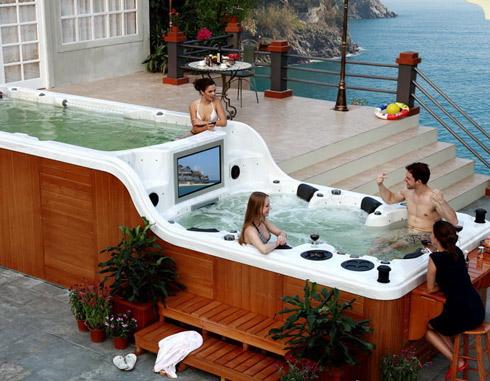 Мини бассейны SPA: отличный способ расслабиться и снять напряжение