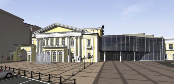 До конца года ремонт Харьковской филармонии должен быть закончен