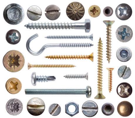 Основные виды строительных крепежей, используемые в строительстве