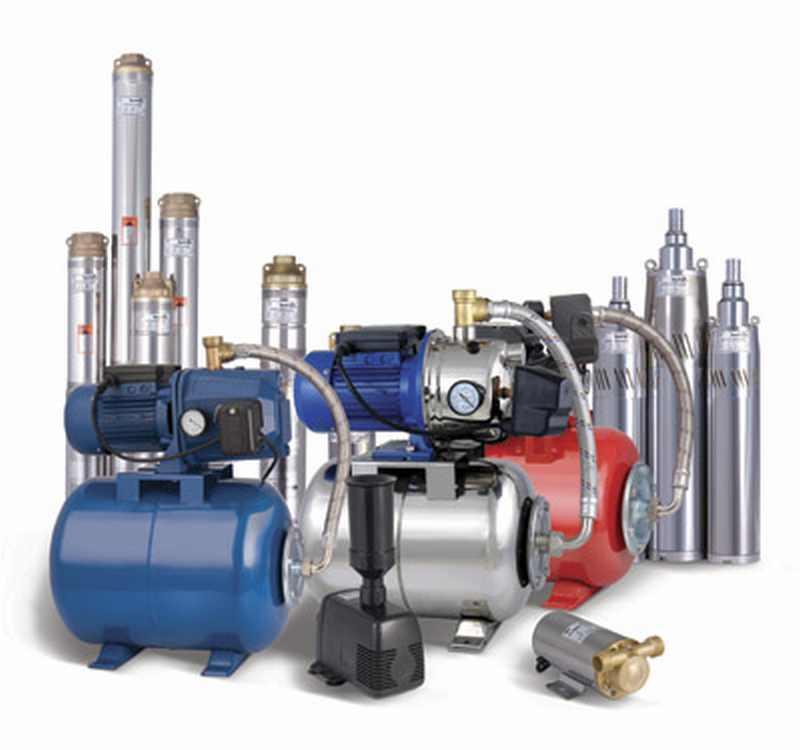 Скважинные насосы и насосное оборудование