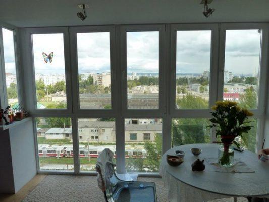 Особенности панорамных окон и их ремонт