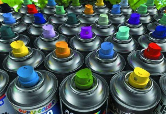 На что нужно смотреть когда выбираете краску в баллончике