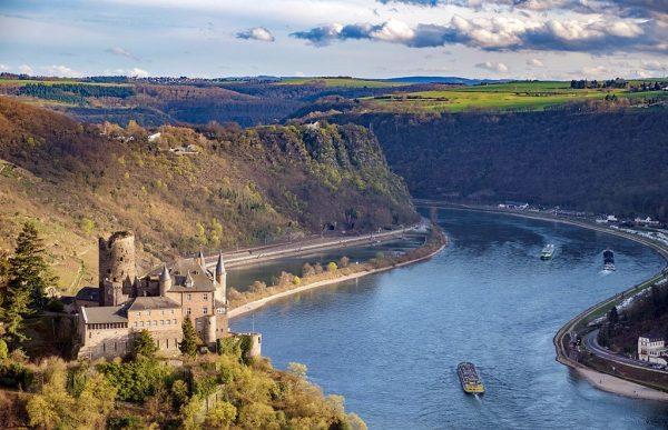 Путешествие по берегам Рейна