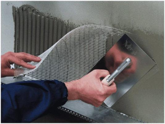 Штукатурная сетка для надежного строительства