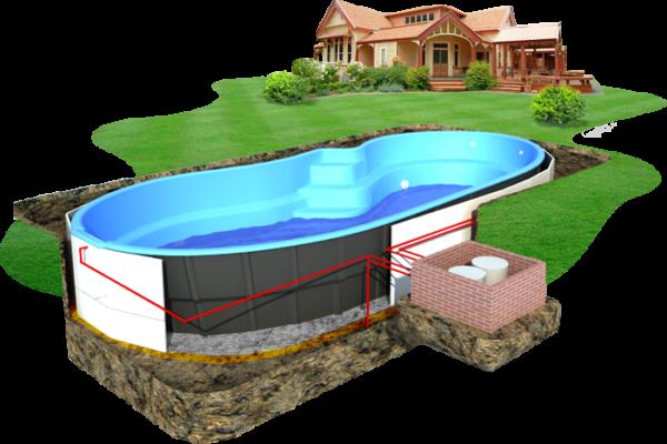 Схема строительства бассейнов