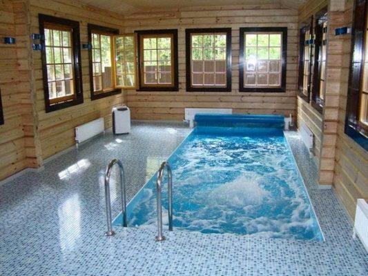 Как построить бассейн в частном доме